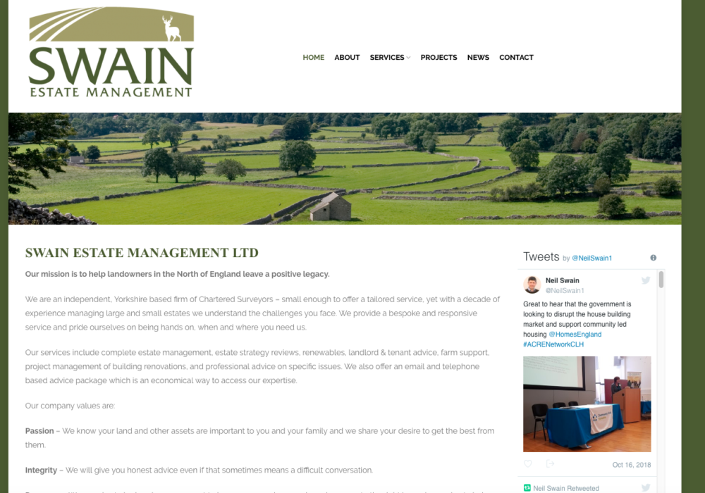 Swain Estate Management